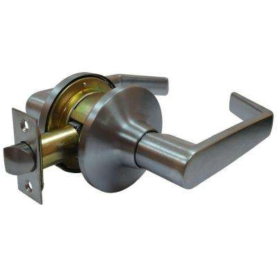 Satin Chrome Tubular Calypso Passage Hall/Closet Door Lever