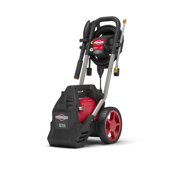 Briggs & Stratton PW-20700 2200 PSI 1.2 GPM Electric Powered Pressure Washer