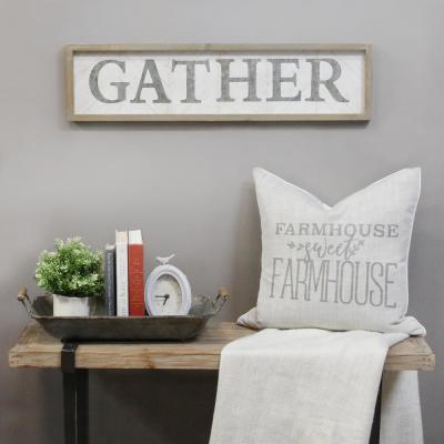 Wooden Gather Wall Decor