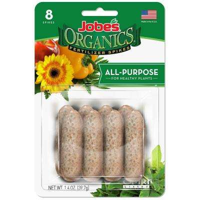 1.4 oz. All Purpose Plant Food Spikes (8-Pack)
