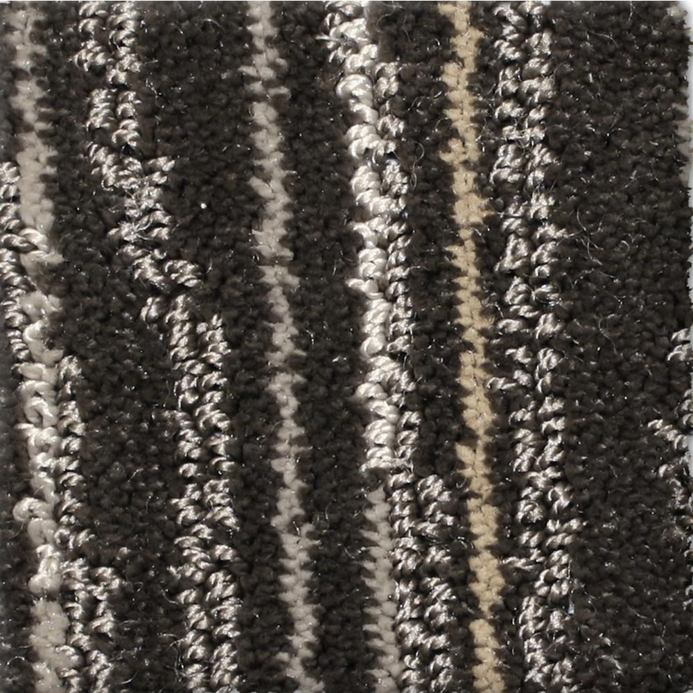Home Decorators Collection Jump Line II - Color Frolic Pattern 12 ft. Carpet