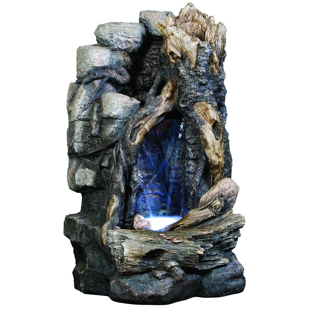 Kelkay Driftwood Falls Fountain-DISCONTINUED