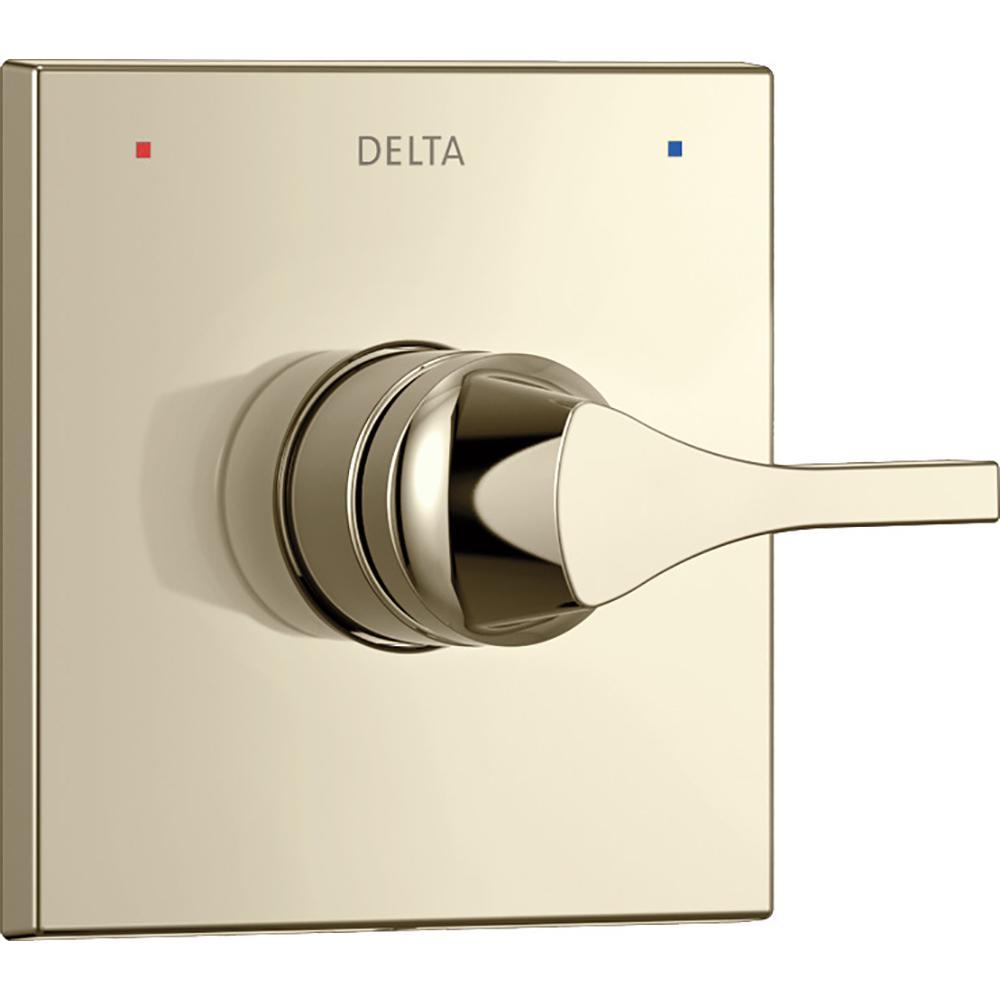 Delta Zura 1-Handle Valve Trim Kit in Polished Nickel (Valve Not Included)