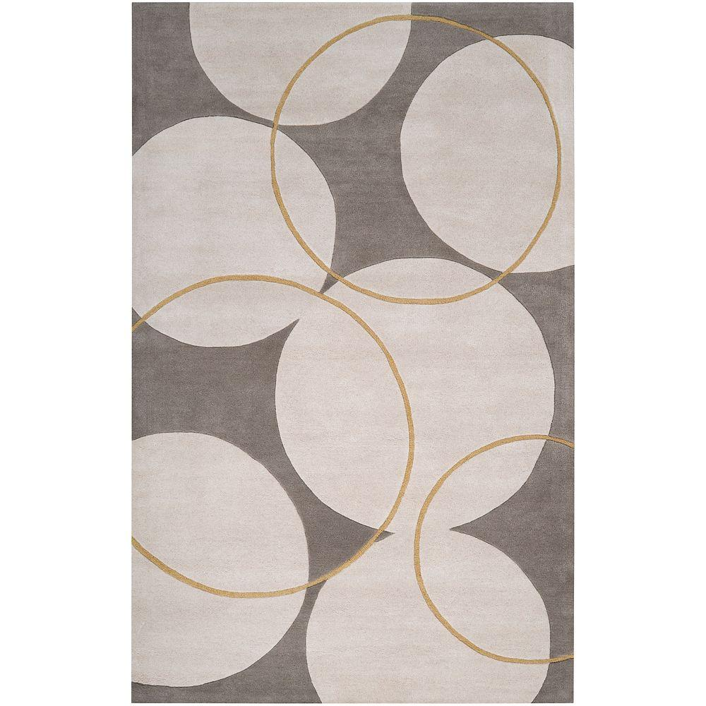 Isleton Gray 5 ft. x 8 ft. Area Rug