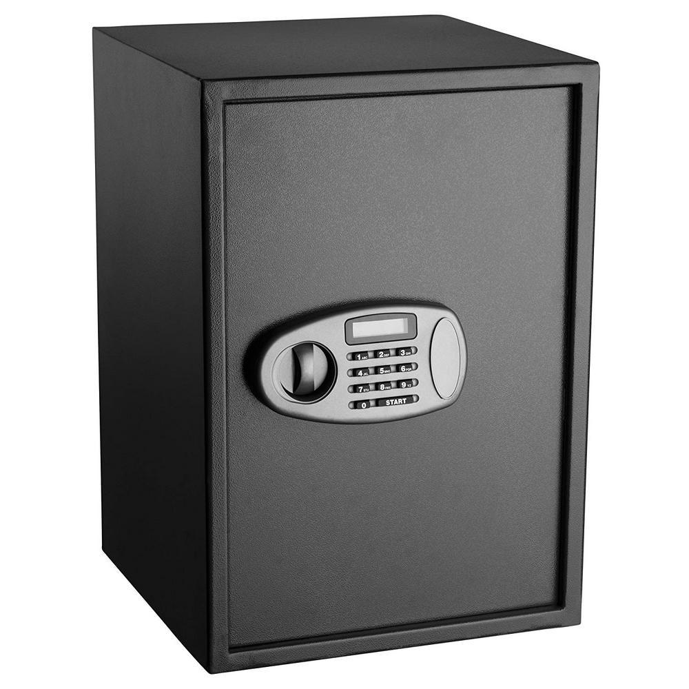 2.32 cu. ft. Steel Security Safe with Digital Lock, Black