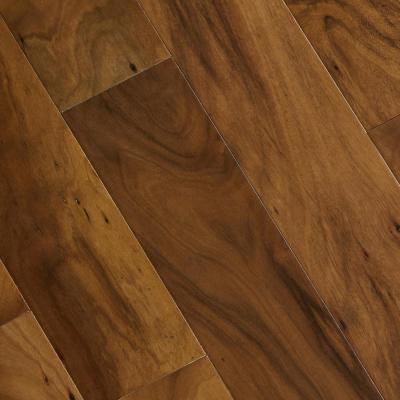 Hand Scraped Natural Acacia 1/2 in. T x 4-3/4 in. W x Varying Length Engineered Hardwood Flooring (24.94 sq. ft. / case)