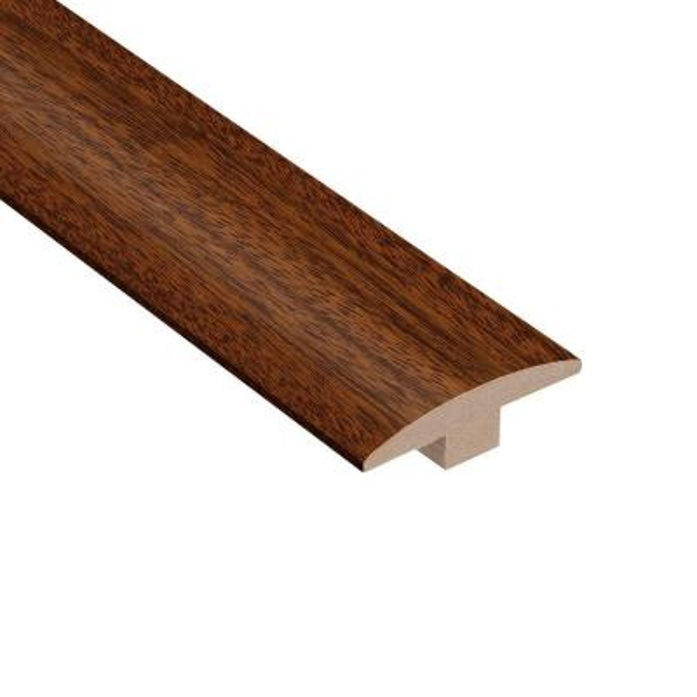 Brazilian Cherry Wood Floor Trim Hardwood Flooring The Home Depot