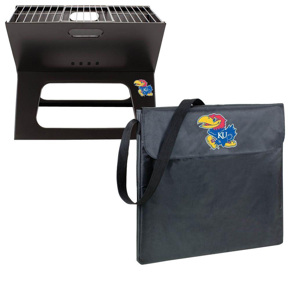 Picnic Time X-Grill Kansas Folding Portable Charcoal Grill