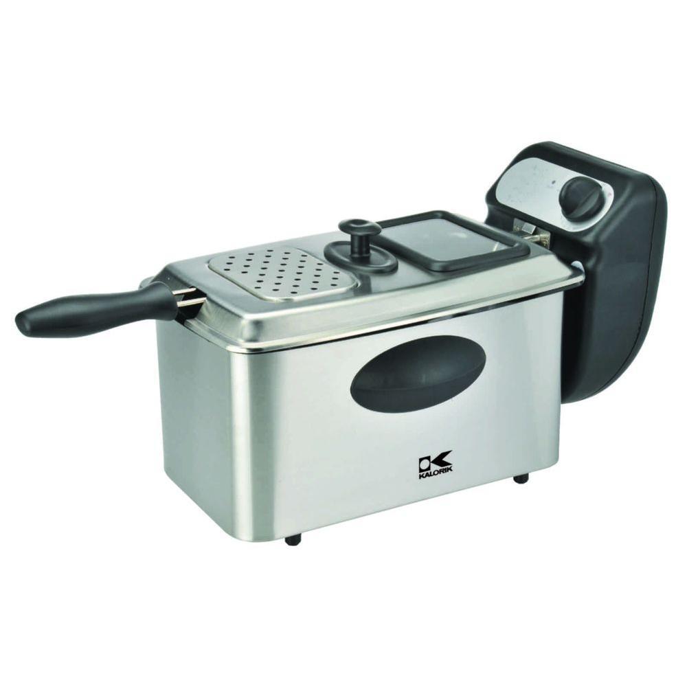 KALORIK 4 l Deep Fryer in Stainless Steel-DISCONTINUED