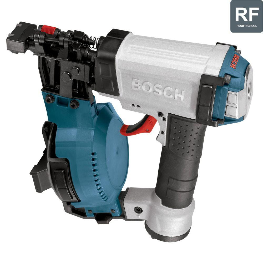 Bosch Factory Reconditioned Corded Roofing Coil Nail Gun