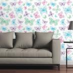 CGSignLab Butterflies I by Raygun Removable Wallpaper Panel