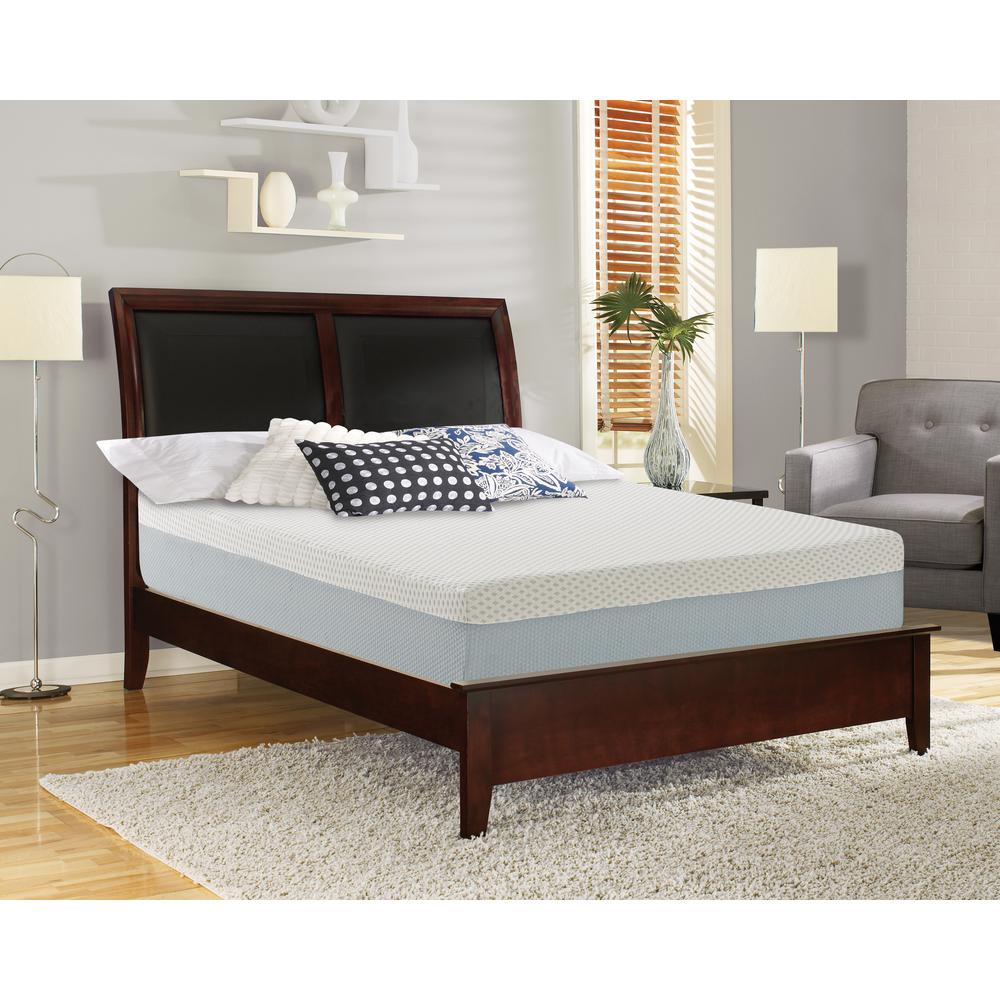 EcoComfort Queen Medium to Soft Memory Foam Mattress