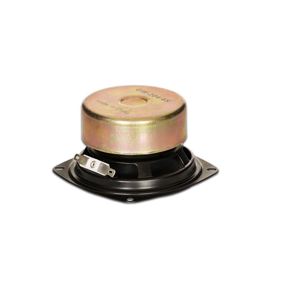 Goldwood Sound GW-204//4S Shielded 4 Woofer 70 Watt 4ohm Replacement Speaker Inc.