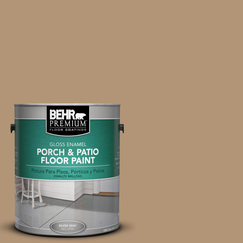 1 gal. #290F-4 Cliff Rock Gloss Porch and Patio Floor Paint