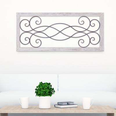 Rustic Scroll Wall Art