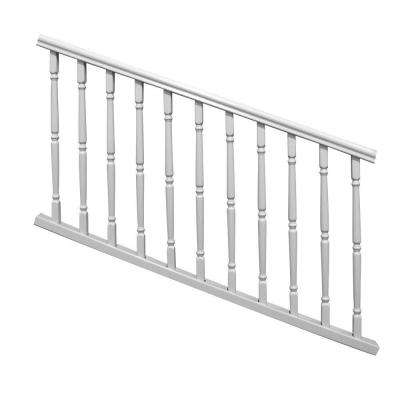 Williamsburg 6 ft. x 36 in. White PolyComposite Stair Rail Kit without Brackets