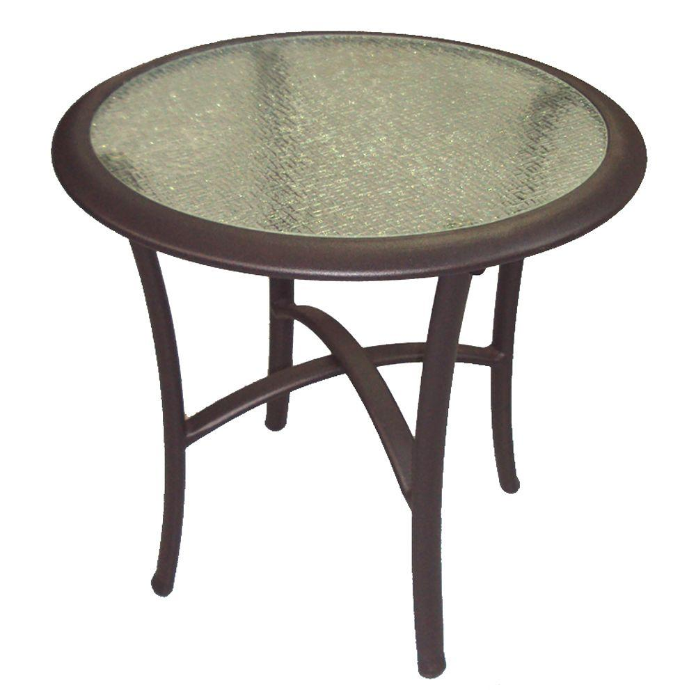 Martha Stewart Living Welland Patio Side Table-DISCONTINUED