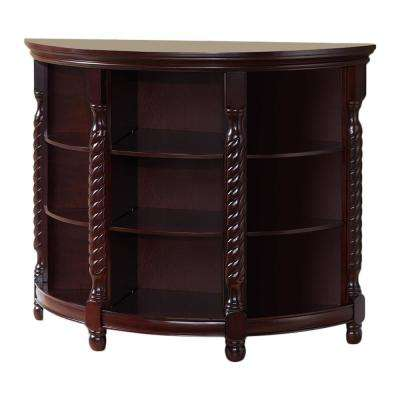 Cherry Rope Design Entryway Buffet - Console Table
