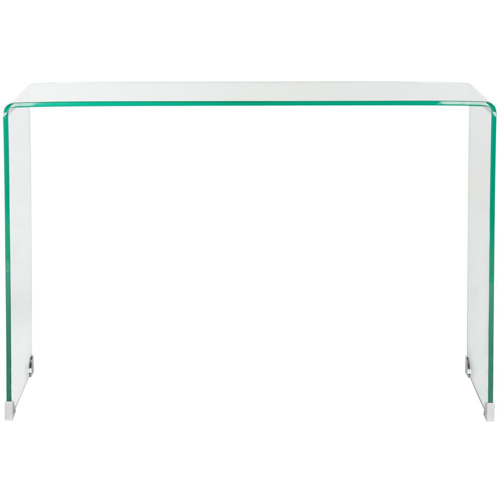 Safavieh Ambler Clear Console Table