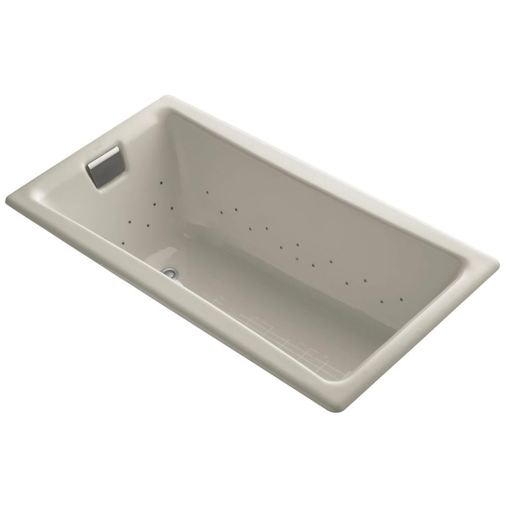KOHLER Tea For Two 5 Ft. Rectangular Drop In Whirlpool Bathtub In