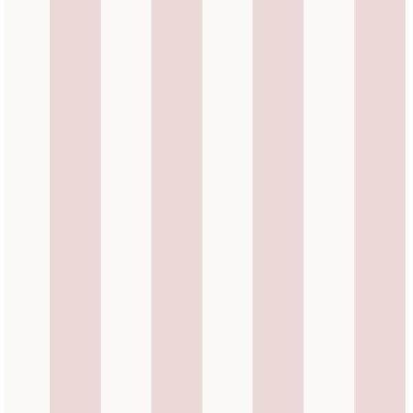 Stripe Pink Paper Strippable Roll (Covers 56 sq. ft.)