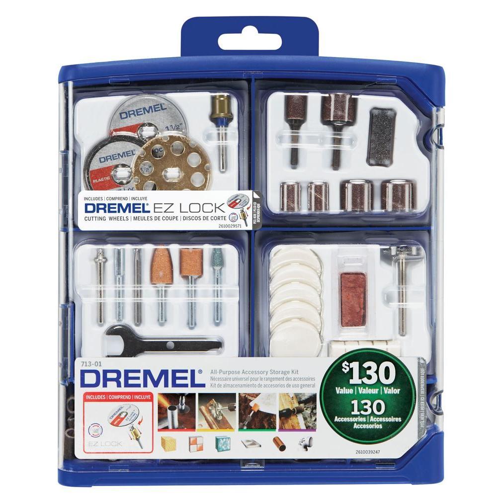 Rotary Tool Accessory Kit (130-Piece)