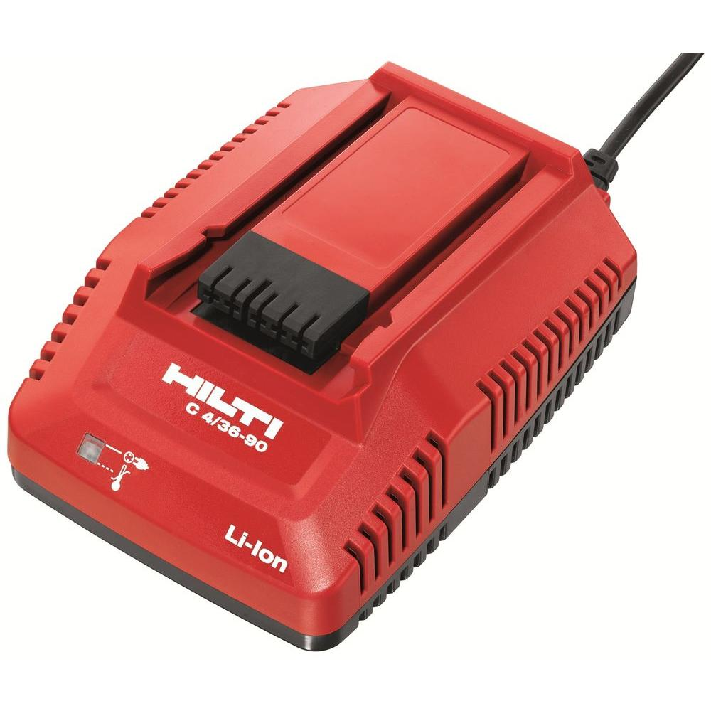 Hilti 18-36-Volt Lithium-Ion 4/36-90 Compact Battery Pack Fast Charger
