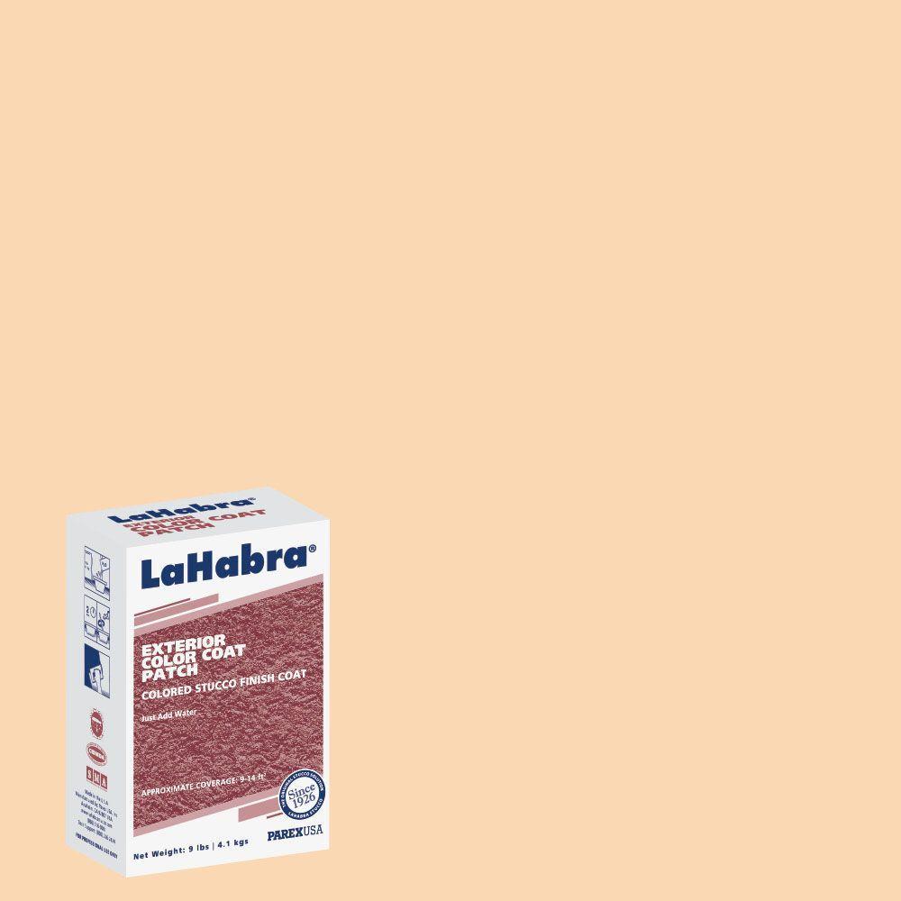 LaHabra 9 lb. Exterior Stucco Color Patch #72 Adobe