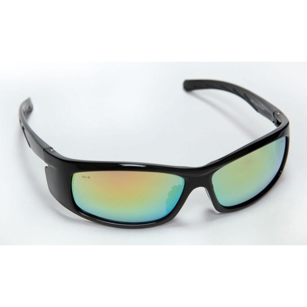 Cordova VENDETTA Safety Glasses Black Full Nylon Frame Fusion Orange Lens