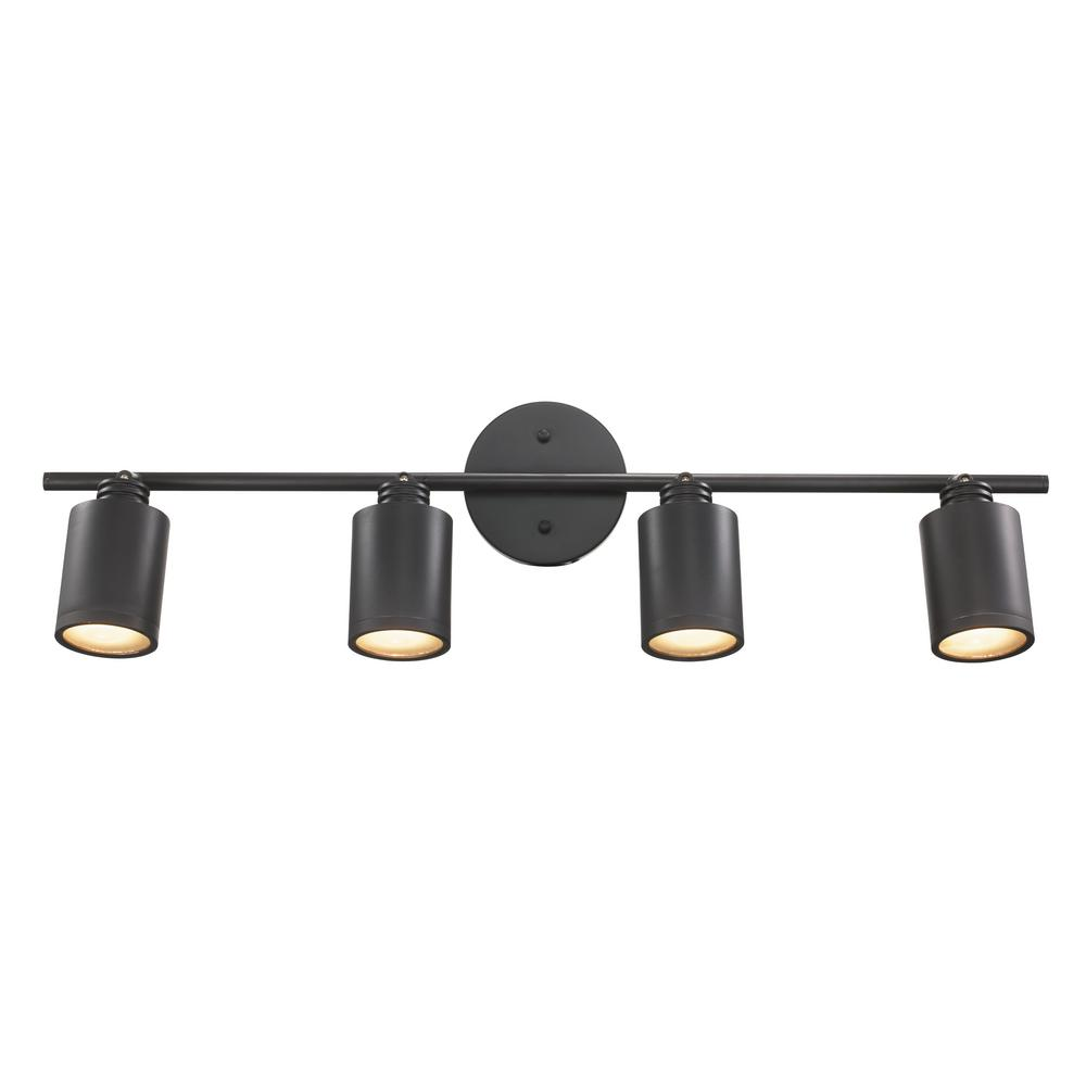 Holdrege 2.6 ft. 4-Light Rubbed Oil Bronze Track Lighting Kit
