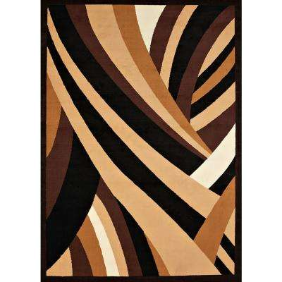 Cafe Frappe Brown 8 ft. x 11 ft. Oversize Area Rug