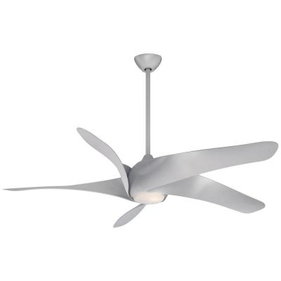 Artemis XL5 62 in. Integrated LED Indoor Silver Ceiling Fan with Light with Remote Control