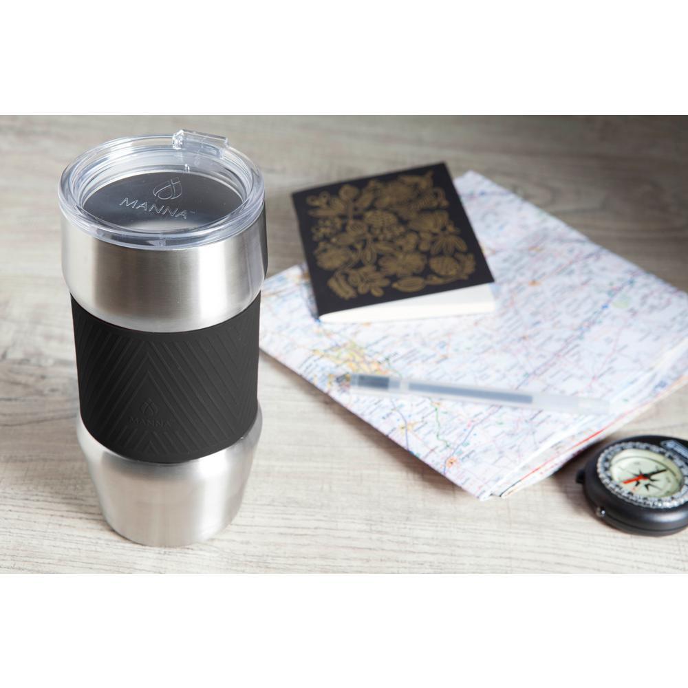 Renegade 20 oz. Black Grip Stainless Steel Vacuum Insulated Tumbler