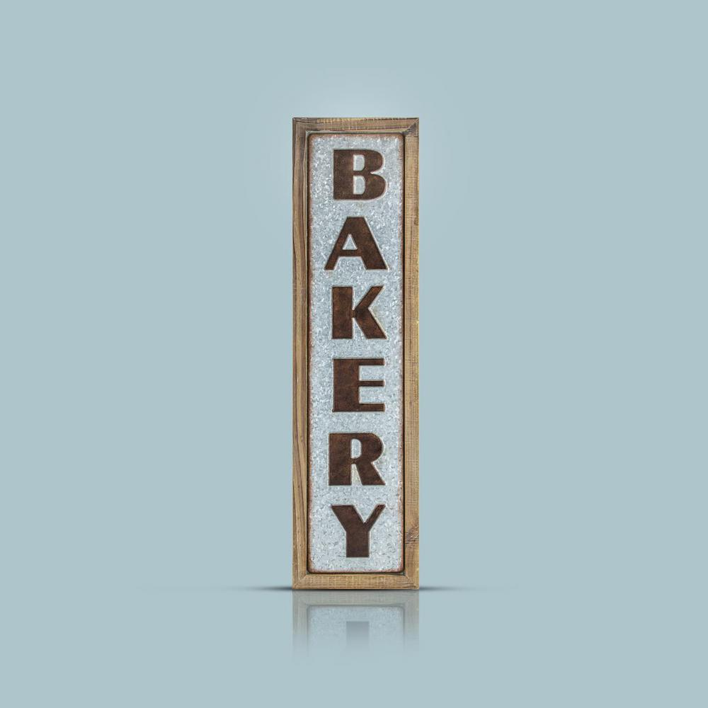 Bakery Wood/Metal Sign Wall Decor