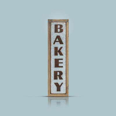 Bakery wood metal sign wall decor · crystal art gallery