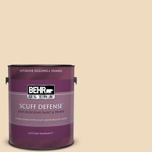 Behr Ultra 1 Gal Bxc 74 Phoenix Villa Extra Durable Eggshell Enamel Interior Paint Primer 275001 The Home Depot