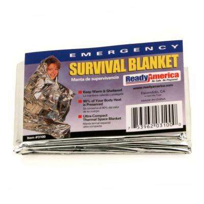 Emergency Survival Blankets (25-Pack)