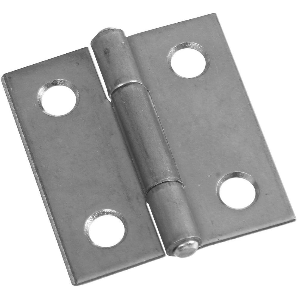 National Hardware 1-1/2 in. Non-Removable Pin Hinge