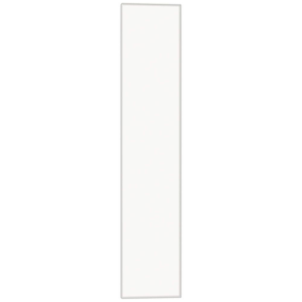 Hampton bay in cabinet filler in satin white kafs636x sw the home depot Kitchen cabinets 75 off