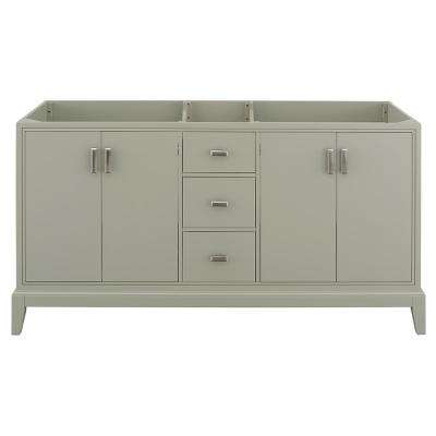 Shaelyn 60 in. W x 21.75 in. D Vanity Cabinet Only in Sage Green