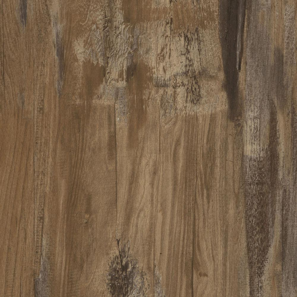 LifeProof Burnt Oak 8 7 in  x 47 6 in  Luxury Vinyl Plank Flooring (20 06  sq  ft  / case)