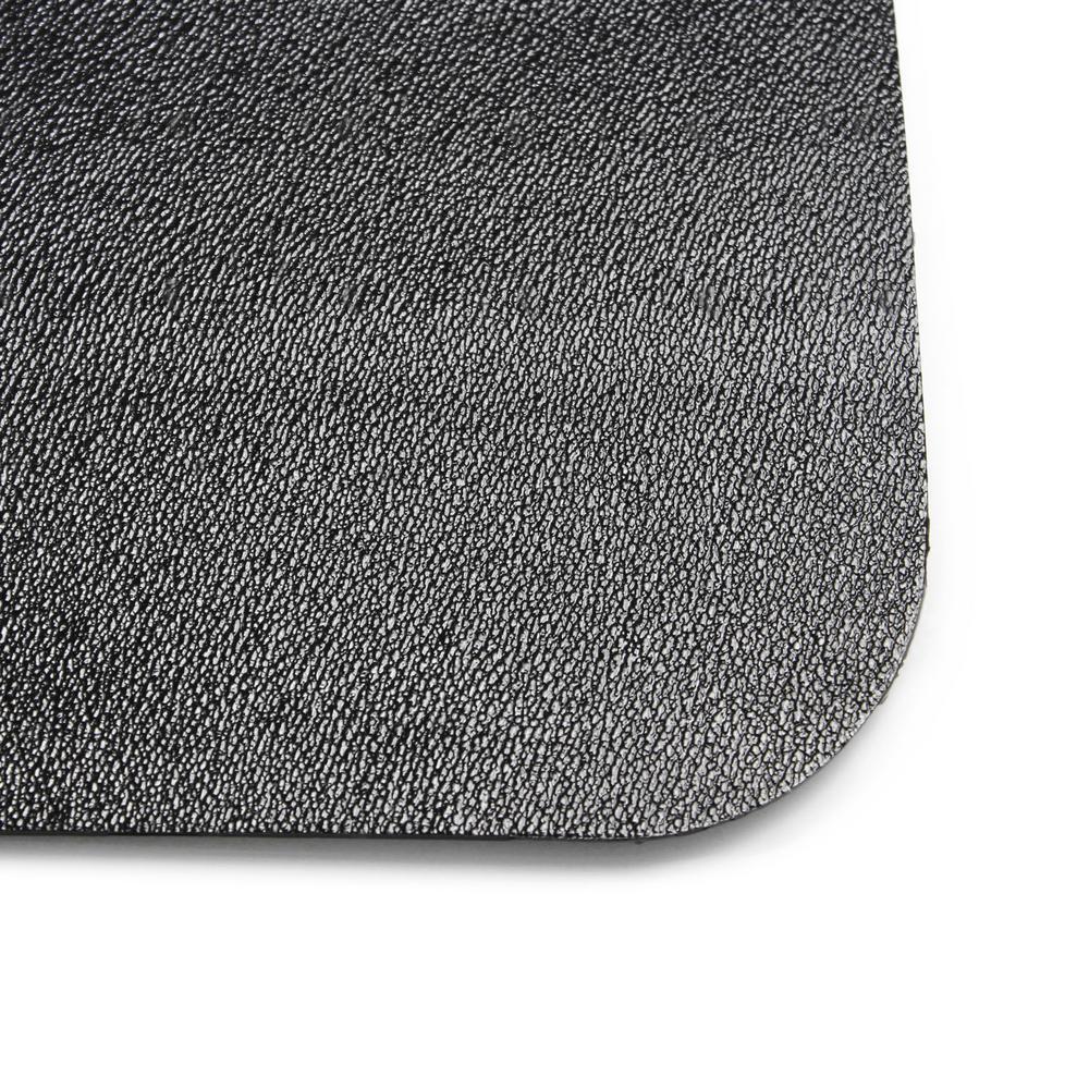 Herco 4 x 8 Vinyl Sponge Anti-Fatigue Mat Black
