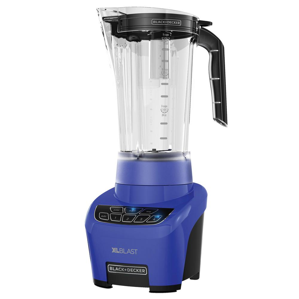 Home Depot Tools Blender ~ Black decker xl blast drink machine navy blender bl n