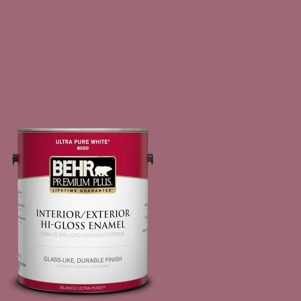 1-gal. #100D-5 Berries and Cream Hi-Gloss Enamel Interior/Exterior Paint