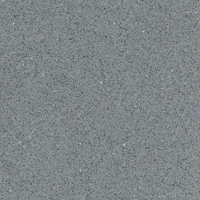 Merveilleux Quartz Countertop Sample In Grey Expo