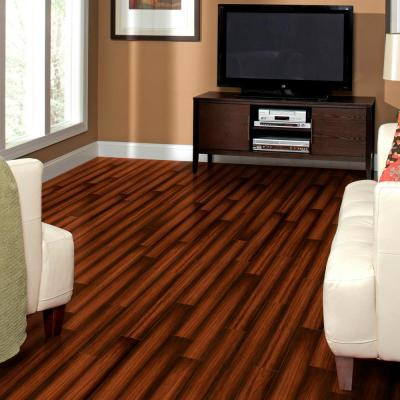 High Gloss Distressed Maple Sevilla 8 mm Thick x 5-5/8 in. W x 47-7/8 in. L Laminate Flooring (18.7 sq. ft./case)