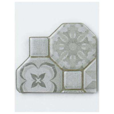 Tessera White Ceramic Floor and Wall Tile - 3 in. x 4 in. Tile Sample