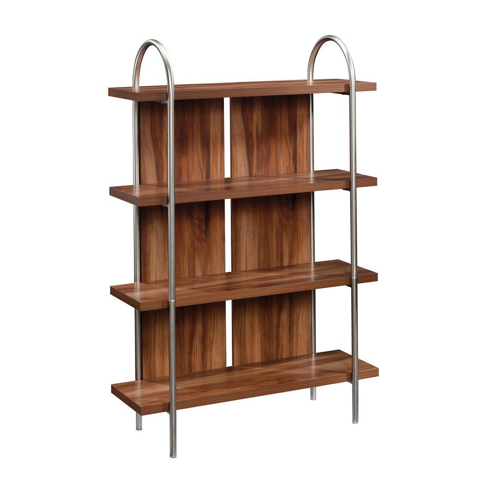 Vista Key Blaze Acacia with optional Pearl Oak Accents Bookcase