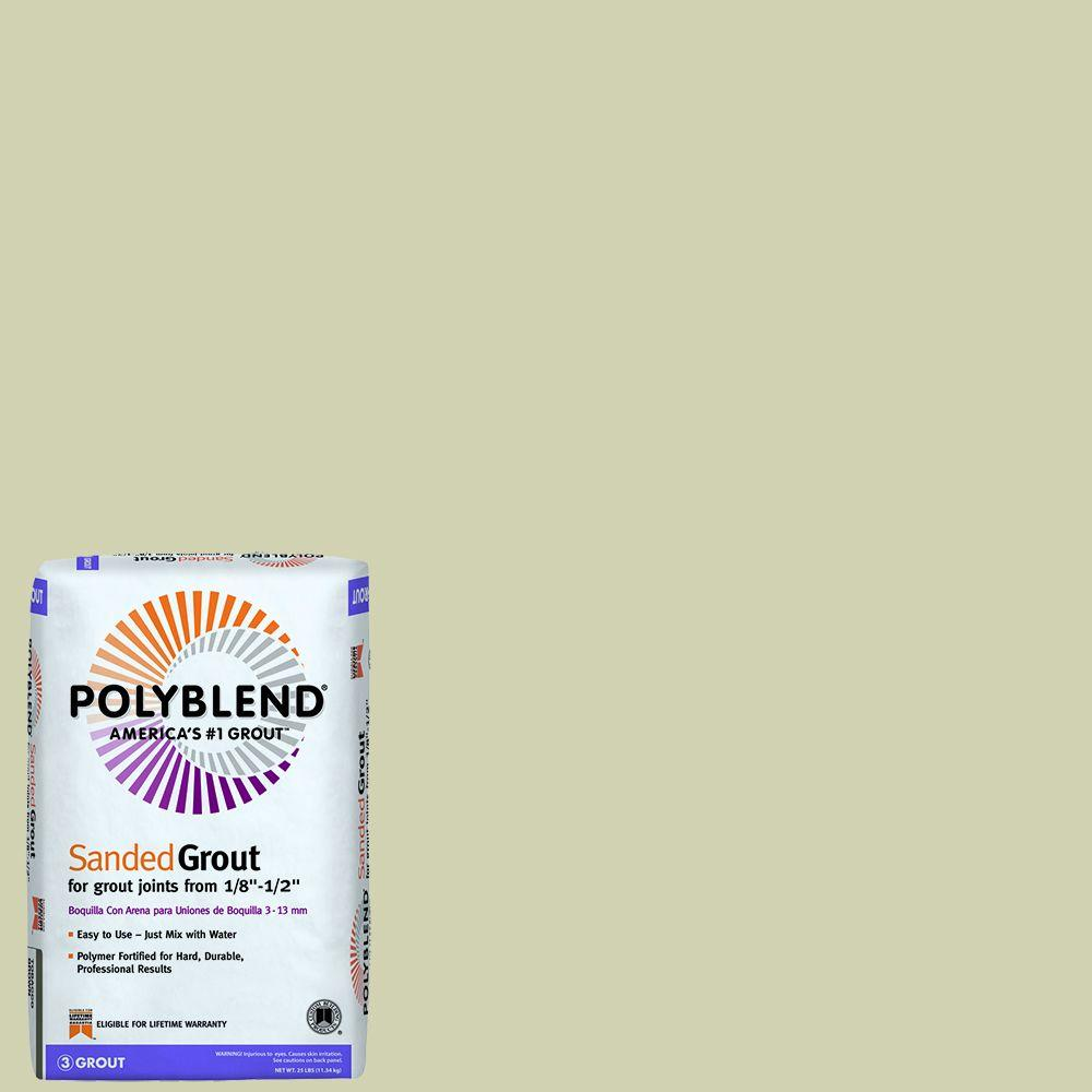 Custom Building Products Polyblend #382 Bone 25 lb. Sanded Grout