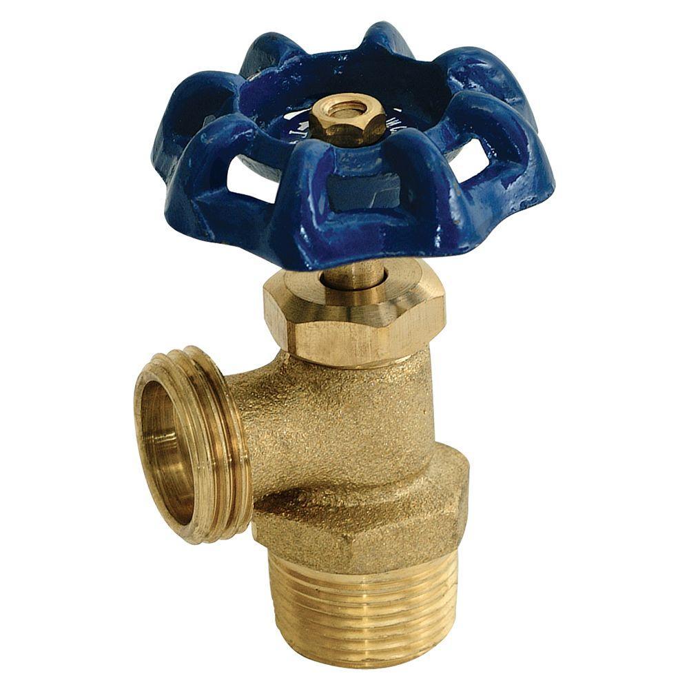 Eastman 3/4 in. Brass MIP Boiler Drain